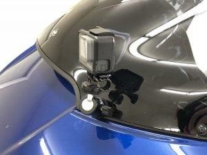 RickRak GoPro Mount for Harley Shark Nose Fairing
