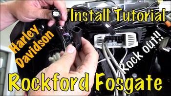 Install Rockford Fosgate Front Amp & Speaker Audio Kit on ... on
