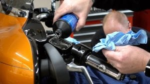 flush your harley clutch system