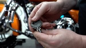 how to replace the spark plugs on your Harley