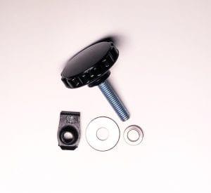 Harley saddlebag safety bolts