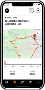 motorcycle trip planning app