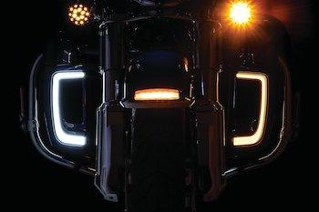 Tracer LED Fairing Lower Grills